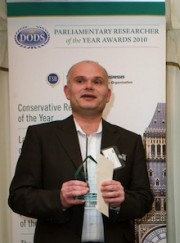 ePolitix.com Reporter of the Year Award 2010